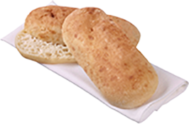 Soft Turkish Oval Lunch Roll