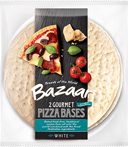 Bazaar Pizza Bases Gourmet Thin 2 Pack