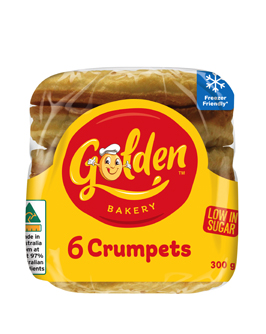 Golden Crumpets - Frozen