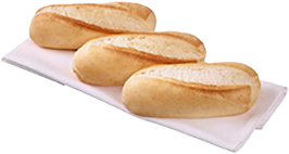 Small Sandwich Roll White