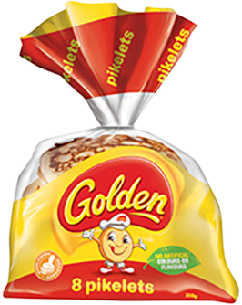 Golden Pikelets 8 Pack